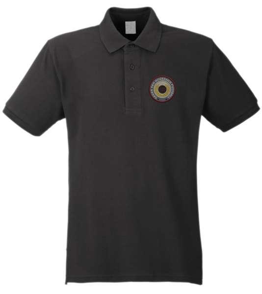 Poloshirt + Gegen den modernen Fussball + Bestickt