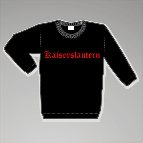 KAISERSLAUTERN Sweatshirt + Altdeutsch + schwarz