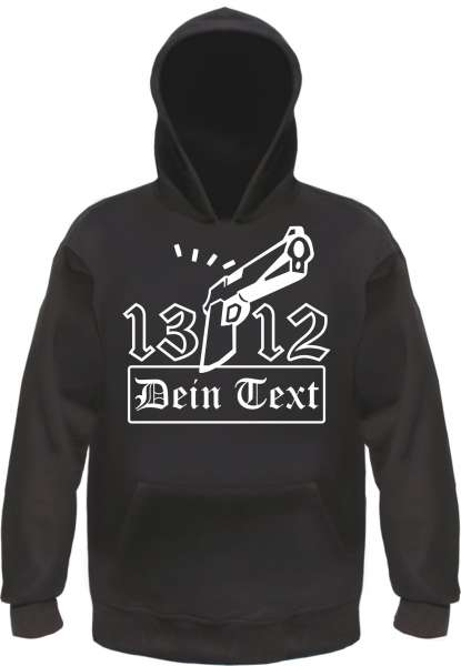 Individuelles Sweatshirt 1312 Knarre mit eigenem Text
