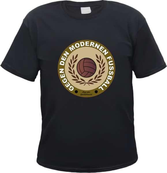 Gegen den modernen Fussball T-Shirt - Lorbeerkranz