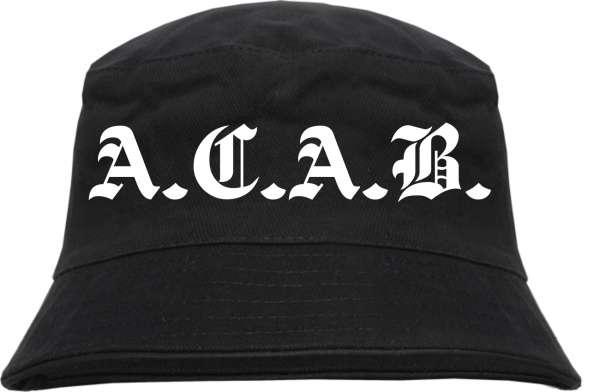 A.C.A.B. Fischerhut - Altdeutsch - Bucket Hat