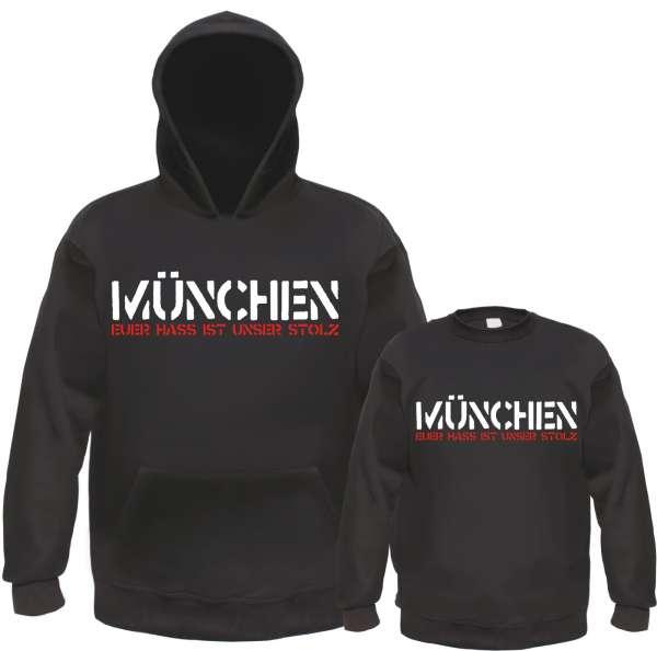 MÜNCHEN Jogginghose - EUER HASS - Schwarz