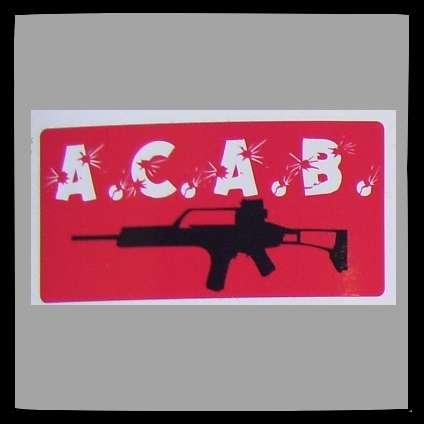 A.C.A.B. Aufkleber / Sticker