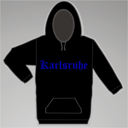 KARLSRUHE Sweatshirt + Altdeutsch + schwarz