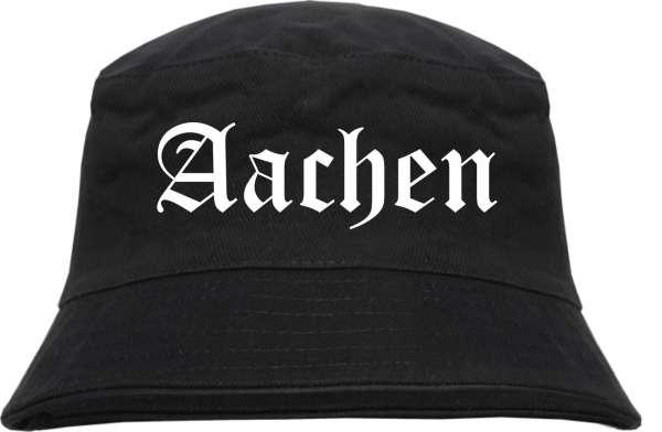 Aachen Fischerhut + Altdeutsch + schwarz