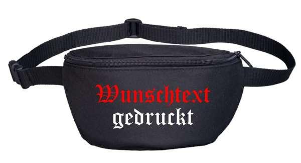Bauchtasche mit Wunschtext - DRUCK - Modell Kamerad