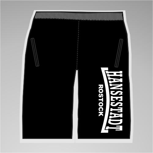HANSESTADT ROSTOCK Assi-Sweat-Shorts + Linie