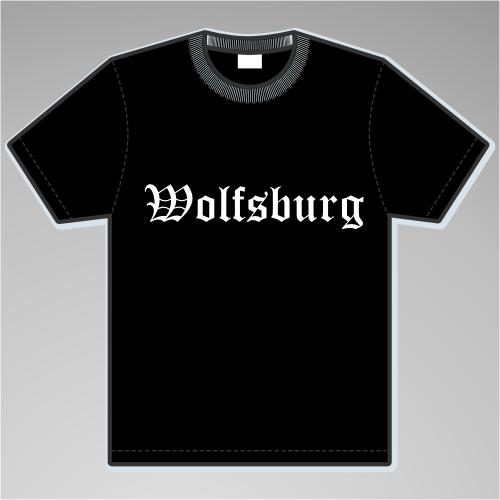 WOLFSBURG T-Shirt + Altdeutsch