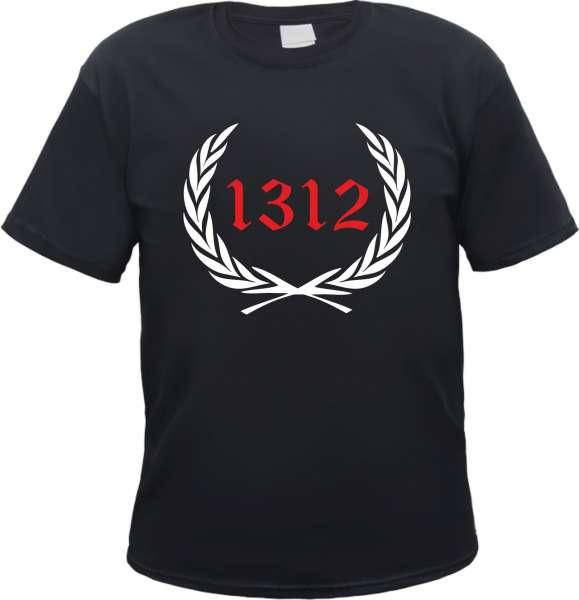 Individuelles T-Shirt Lorbeerkranz + Zahl