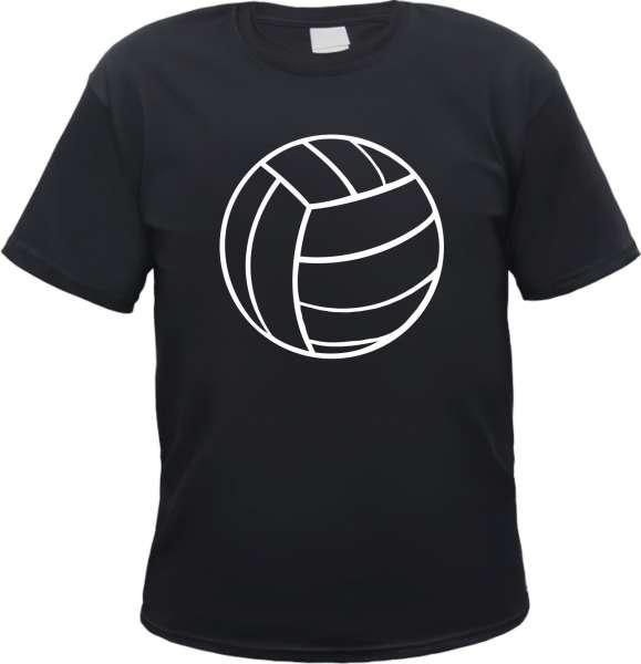 T-Shirt mit Motiv - Fussball - Schwarz