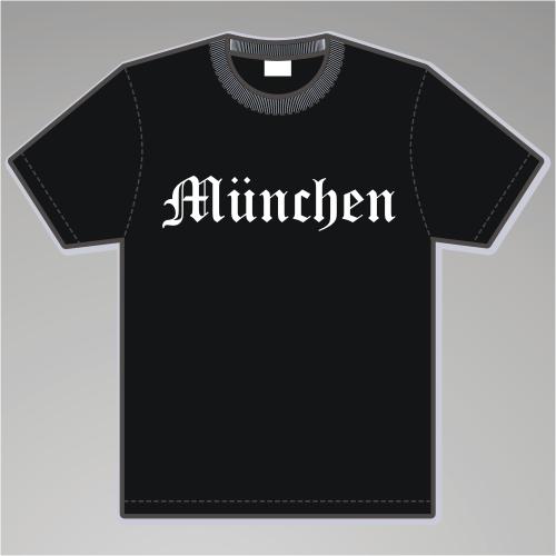 MÜNCHEN T-Shirt + Altdeutsch