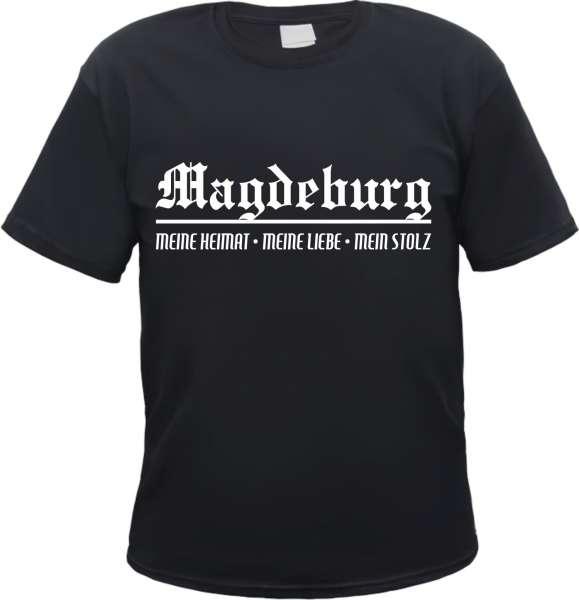 MAGDEBURG T-Shirt - Meine Heimat - versch. Farben