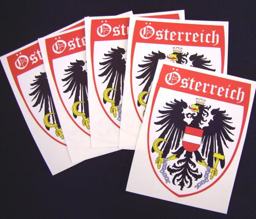 Österreich Aufkleber / Sticker