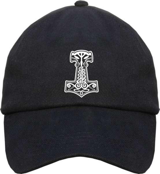 Thorshammer Cap - Schwarz - Schirmmütze