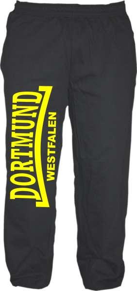 DORTMUND Jogginghose + Westfalen + schwarz/gelb