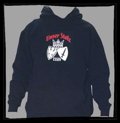 ESSEN Sweatshirt Unser Stolz +++ schwarz/weiss/rot