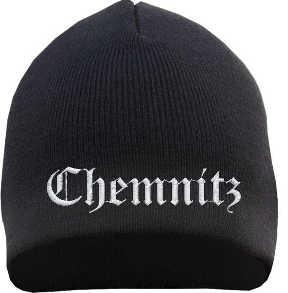 CHEMNITZ Beanie - bestickt - Mütze
