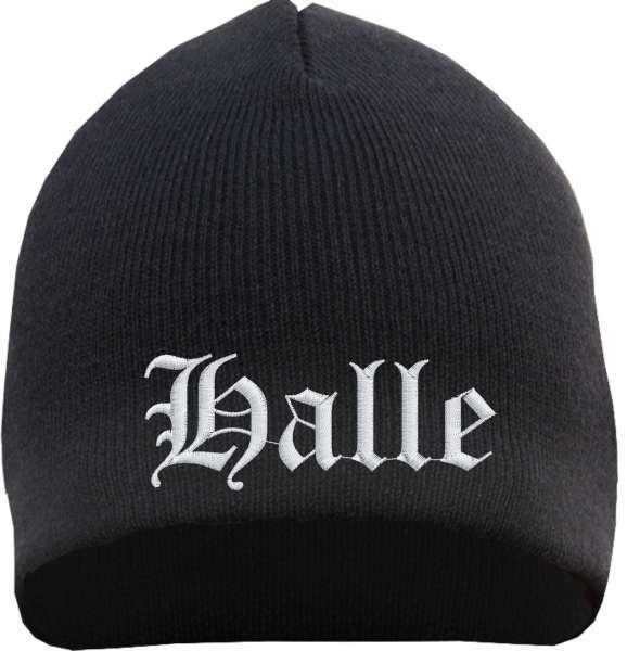 Halle Beanie - bestickt - Mütze