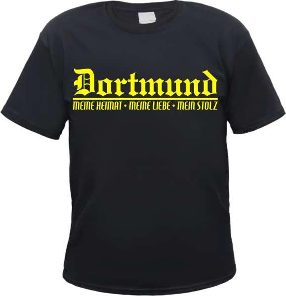 DORTMUND T-Shirt + Meine Heimat + schwarz
