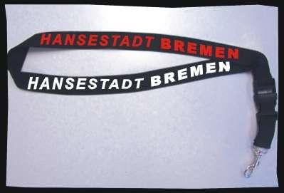 BREMEN Hansestadt Badgeholder / Schlüsselband