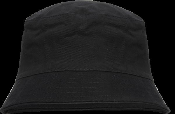 Fischerhut - Schwarz - Blanko ohne Aufdruck - Bucket Hat