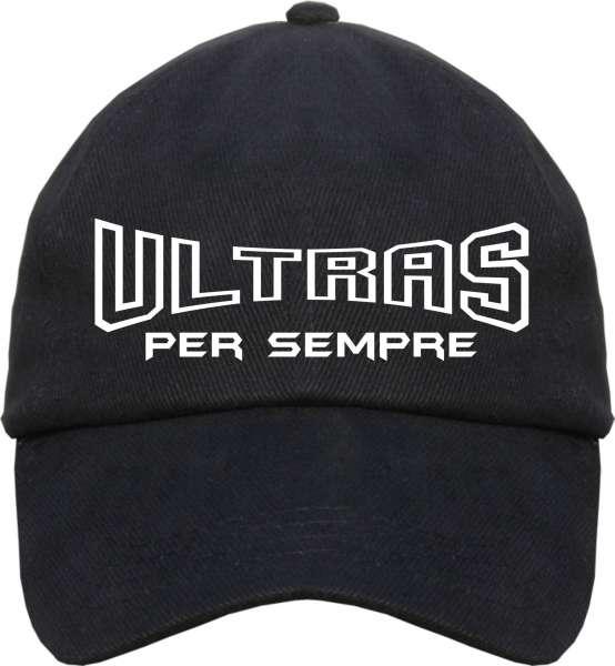 ULTRAS Per Sempre Cap + schwarz/weiss
