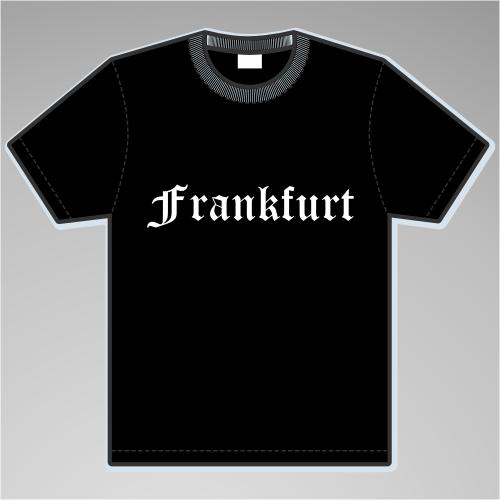 FRANKFURT T-Shirt + Altdeutsch