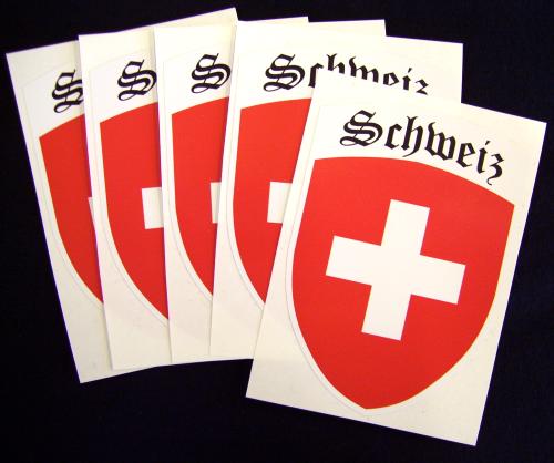 Schweiz Aufkleber / Sticker