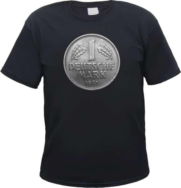 Deutsche Mark - DM T-Shirt - Schwarz oder Weiss
