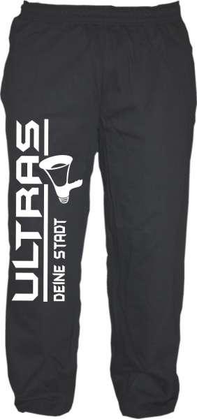 Jogginghose + individuell + Ultras / Megaphon + schwarz