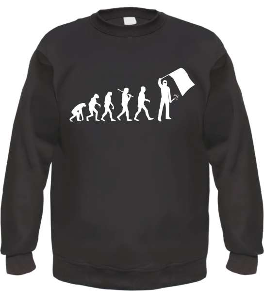 Evolution Ultras Sweatshirt - Schwarz - Mit SOS Logo