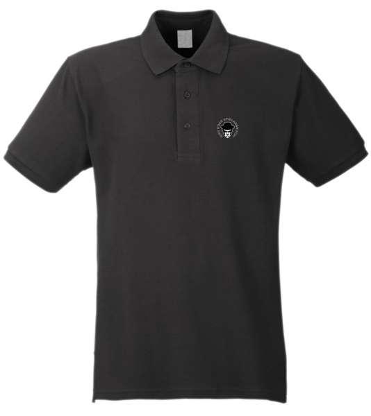 Sieg oder Spielabbruch! Poloshirt + LOGO + gestickt