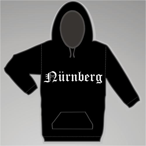 NÜRNBERG Sweatshirt + Altdeutsch + schwarz
