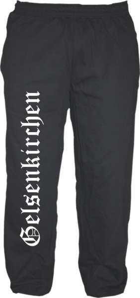 GELSENKIRCHEN Jogginghose - Altdeutsch - Schwarz
