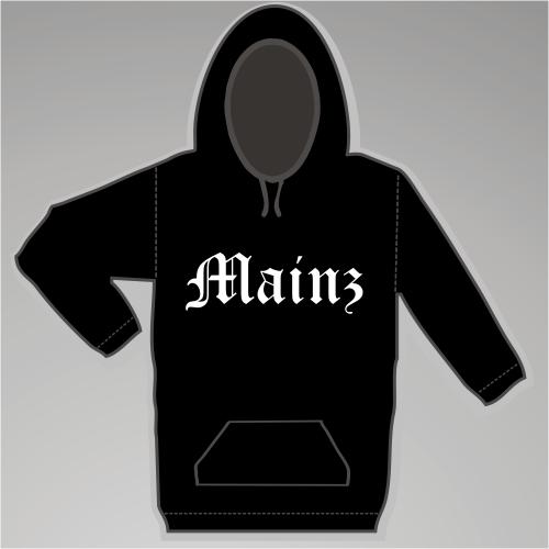 MAINZ Sweatshirt + Altdeutsch + schwarz