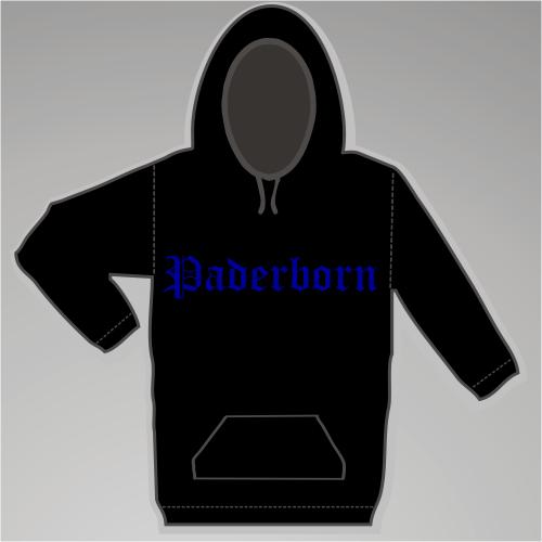 PADERBORN Sweatshirt + Altdeutsch + schwarz