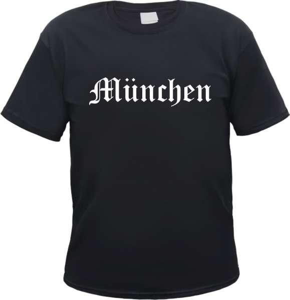 MÜNCHEN T-Shirt - Altdeutsch - Versch. Farben