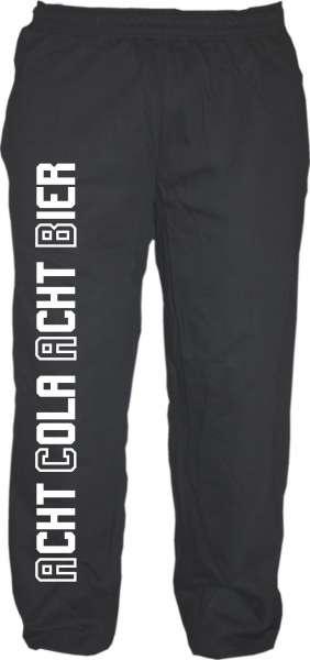 ACAB Jogginghose - Acht Cola Acht Bier - Schwarz