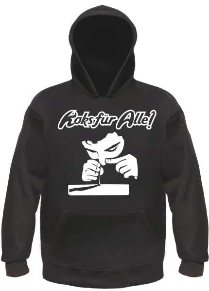 Koks für Alle Sweatshirt - Schwarz