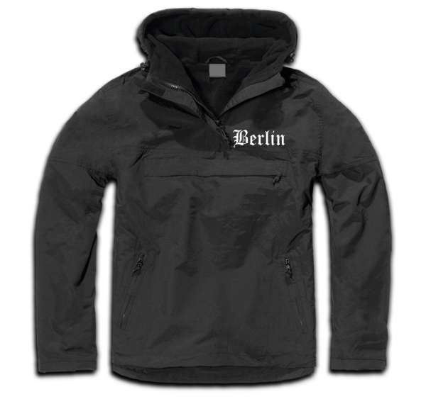 BERLIN Windbreaker / Stormfighter Jacket + bestickt