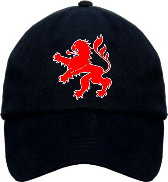 Bundesland HESSEN Cappy - Wappen - Schwarz