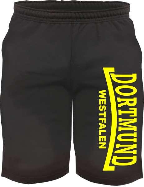 DORTMUND Assi-Short + Westfalen + schwarz/gelb