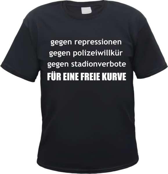 Für eine freie Kurve T-Shirt + versch. Farben