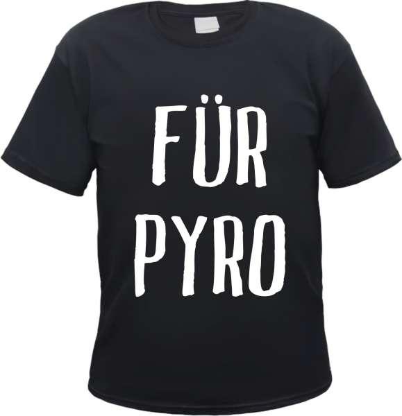 AGEBOT: Für Pyro T-Shirt + schwarz/weiss