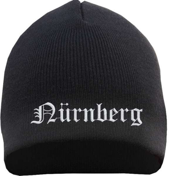 NÜRNBERG Beanie - bestickt - Mütze