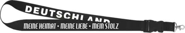 Schlüsselband - Deutschland Meine Heimat