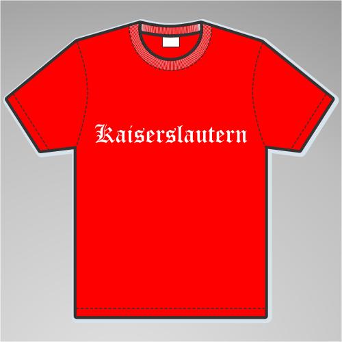 KAISERSLAUTERN T-Shirt + Altdeutsch