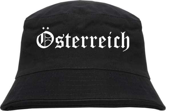 Österreich Fischerhut - Altdeutsch - Bucket Hat
