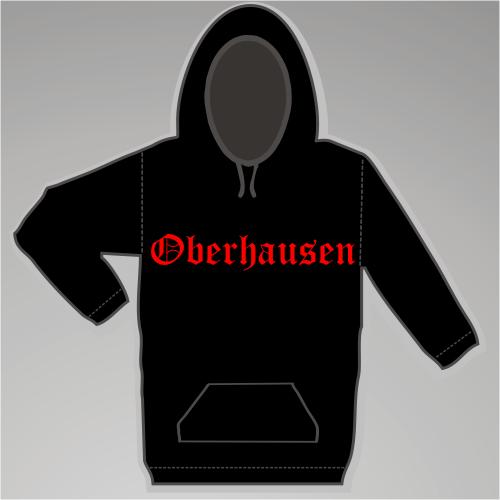 OBERHAUSEN Sweatshirt + Altdeutsch + schwarz
