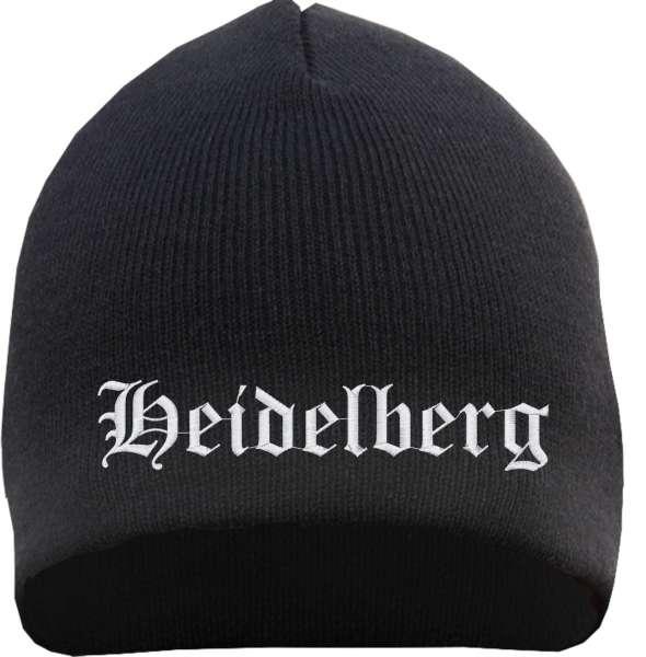 Heidelberg Beanie - bestickt - Mütze